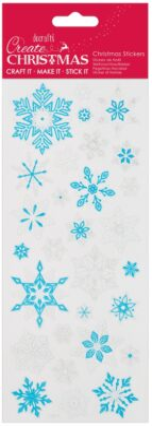 DO samolepky PMA 810935 vánoční Snowflakes(5055170190346)