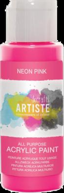 DO barva akryl. DOA 766073 59ml Neon Pink(5055198700954)