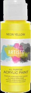 DO barva akryl. DOA 766074 59ml Neon Yellow(5055198700961)