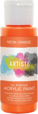 DO barva akryl. DOA 766076 59ml Neon Orange(5055198700985)