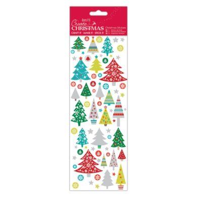 DO samolepky vánoční PMA 804912 Folk Trees(5055198816501)