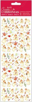 DO samolepky PMA 804929 vánoční Musical Angels(5055198816679)