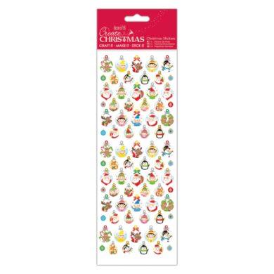 DO samolepky vánoční PMA 804934 Bauble Gift Tags(5055198816723)