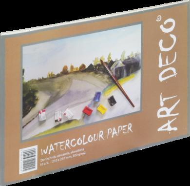 blok F akvarel.papír A4 300g 10l 150-1210(5900163212225)