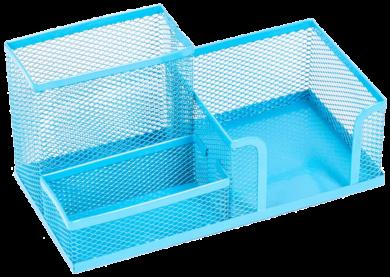 stojánek drátěný víceúčelový Combo modrý(5902308700048)