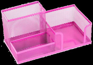 stojánek drátěný víceúčelový Combo růžový(5902308700062)