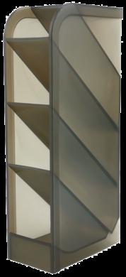 stojánek plexi na kuličková pera kouřový 110814(5902308729599)