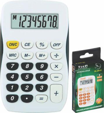 kalkulačka KW TR-295-K 8 míst černá 120-1769(5903364207007)