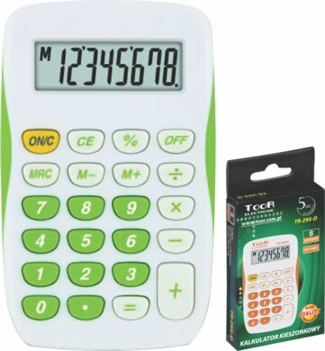 kalkulačka KW TR-295-N 8 míst zelená 120-1770(5903364207021)