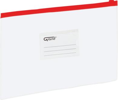 desky se zipem A5 EC-007B červené 120-1470(5903364211356)