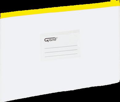 desky se zipem A5 EC-007B žluté 120-1471(5903364211394)