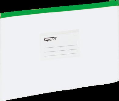 desky se zipem A4 EC-009B zelené 120-1465(5903364211431)