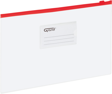 desky se zipem A4 EC-009B červené 120-1462(5903364211455)