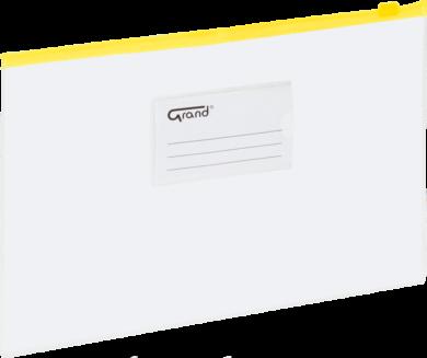desky se zipem A4 EC-009B žluté 120-1463(5903364211493)