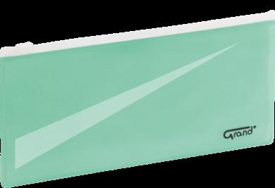 desky se zipem DL GR-P053 zelené 120-1866(5903364218089)