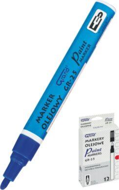 popisovač lakový GR-25 modrý 160-1965(5903364240776)