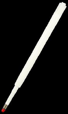 náplň P-velkoobsah.plast bílý černá  KW 160-2055(5903364241766)