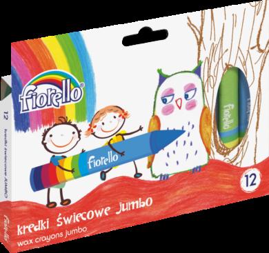 voskovky Fiorello 12ks JUMBO 170-1384(5903364246181)