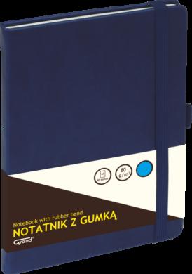 záznamní kniha KW A5 linka 80l koženka modrá 150-1424(5903364254667)