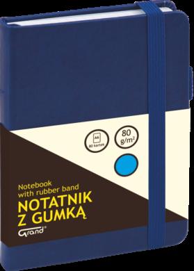 záznamní kniha KW A6 linka 80l koženka modrá 150-1426(5903364254681)