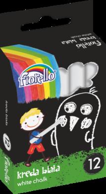 křídy Fiorello bílé 12ks 170-2128(5903364258139)