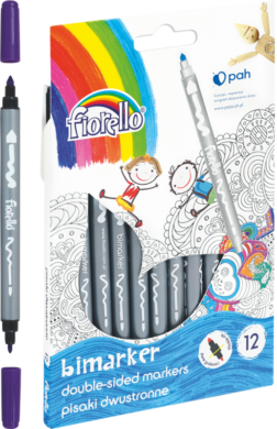 popisovače Fiorello oboustranné 12ks GR-F816 160-2037(5903364265588)