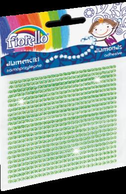 kamínky perličky 170-2397 samolepící zelené(5903364278502)