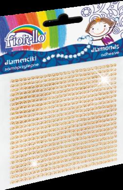 kamínky perličky 170-2398 samolepící sv. zlaté(5903364278526)