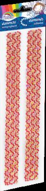 kamínky pásek 170-2466 červené(5903364278960)