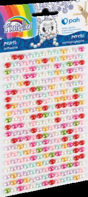 kamínky perličky 170-2584 samolepící mix barev(5903364279950)