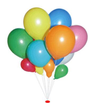 balónek koule 29/95 červená(590497190107)