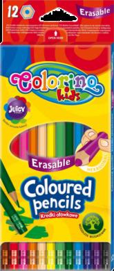 pastelky Colorino gumovací 12ks(5907620187492)