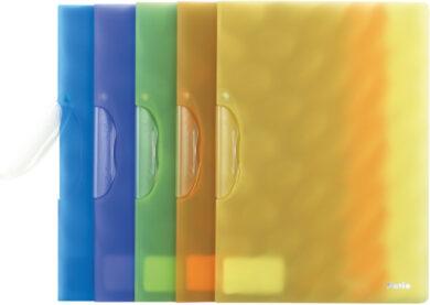 desky s klipem A4 PAT pastel.žluté - 720(5907690811518)