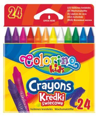 voskovky Colorino 24 ks(5907690813895)