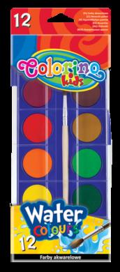 barvy vodové Colorino 12ks(5907690814014)
