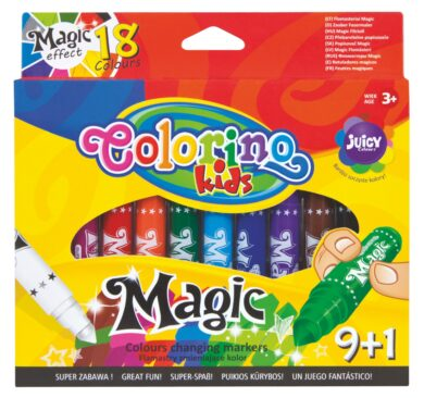 popisovače Colorino Magic  9+1ks  (5907690834630)