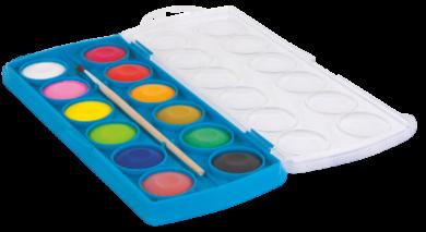 barvy vodové Colorino 12ks(5907690841089)