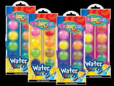 barvy vodové Colorino 12ks(5907690841508)