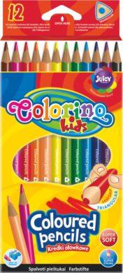 pastelky Colorino trojhranné  12ks(5907690851798)