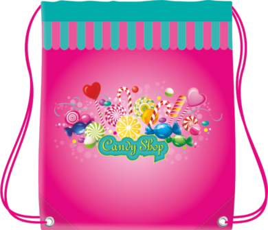 sáček na cvičky CoolPack Candy(5907690856656)