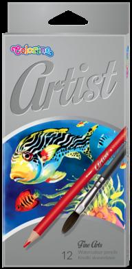 pastelky Colorino Artist akvarelové12ks(5907690865528)