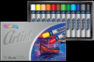 pastely olejové Colorino Artist 12ks(5907690865702)