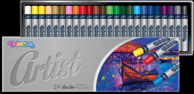 pastely olejové Colorino Artist 24ks(5907690865719)