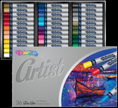 pastely olejové Colorino Artist 36ks(5907690865726)