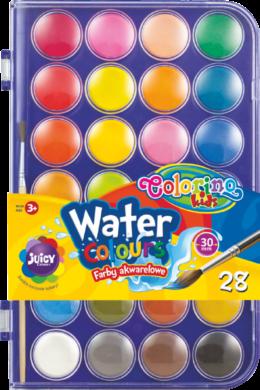 barvy vodové Colorino 27mm 28ks(5907690867317)