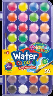 barvy vodové Colorino 22mm 36ks(5907690867324)