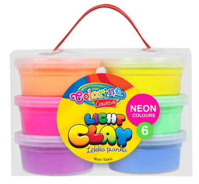 model.hmota Colorino Light Clay 6 neon barev(5907690892142)
