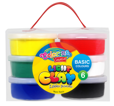 model.hmota Colorino Light Clay 6 barev(5907690892166)