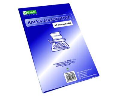 uhlový papír A4 50l černý105200(5907814631268)
