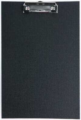 podložka A4 jednodeska karton/PP černá 009449(5907814635679)